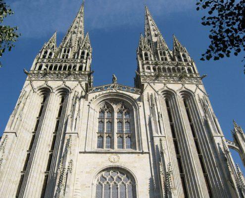Cathedrale de Quimper-mariage-plomelin-finistère