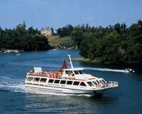 Croisière sur le fleuve breton l'Odet-mariage-plomelin-finistère