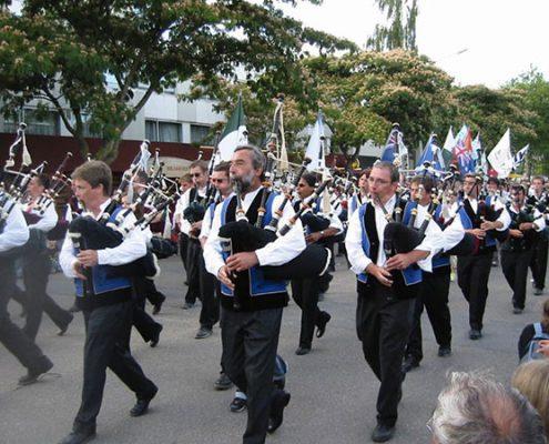 Défilé du festival inter-celtique de Lorient-mariage-plomelin-finistère
