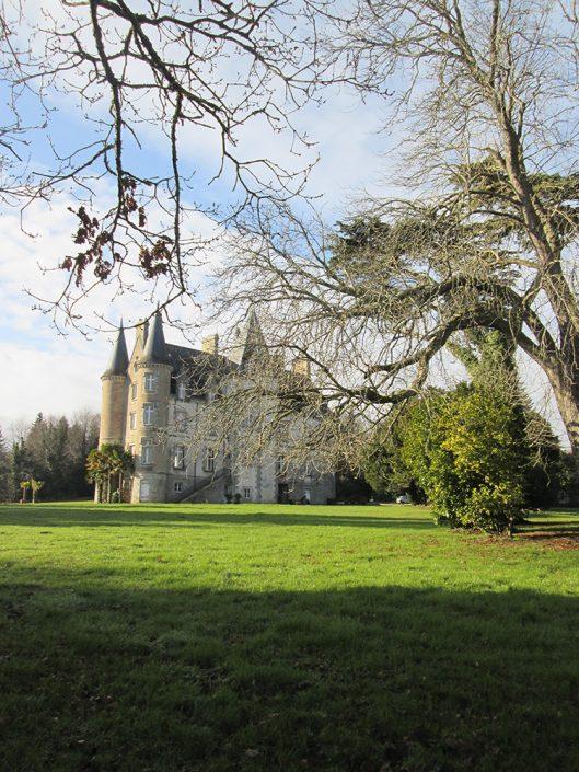Château de Kerambleiz, location château à Quimper, sur les bords de l'Odet dans le Finistère