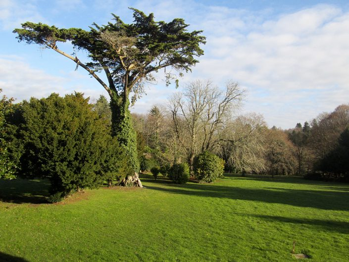 Domainde de Kerambleiz et son parc de 20 hectares pour un mariage ou un séminaire à quimper, dans le Finsitère
